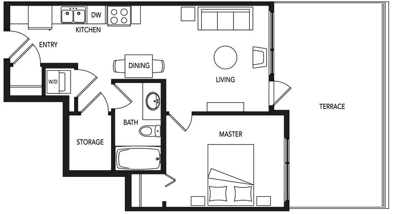 Jade A6 floorplan
