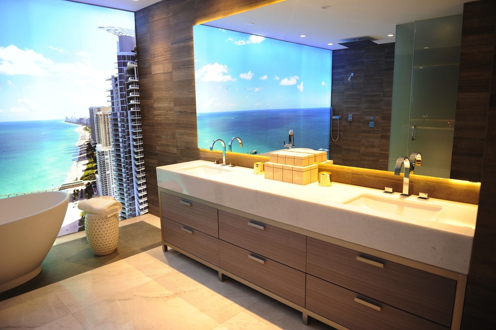 Muse sales center bathroom