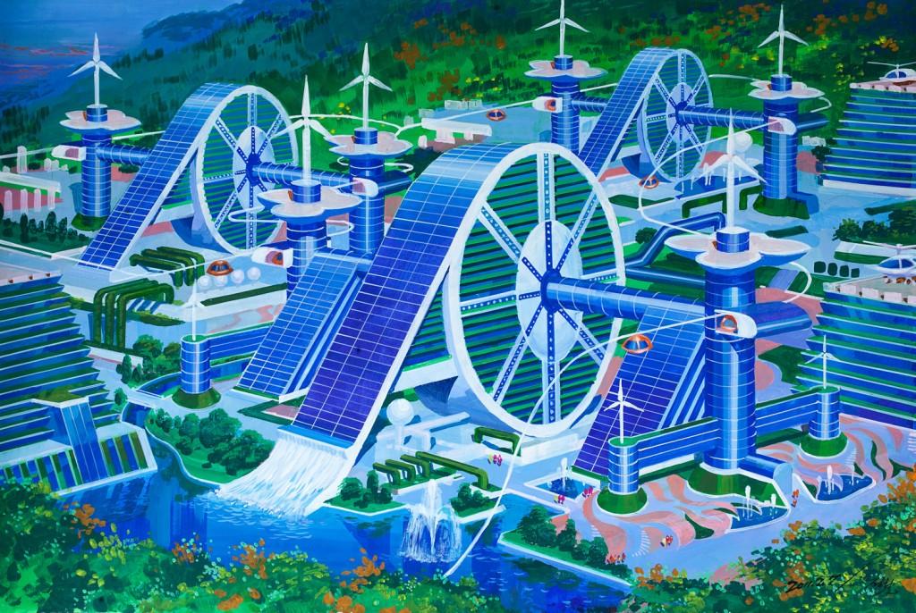 North Korean future architecture