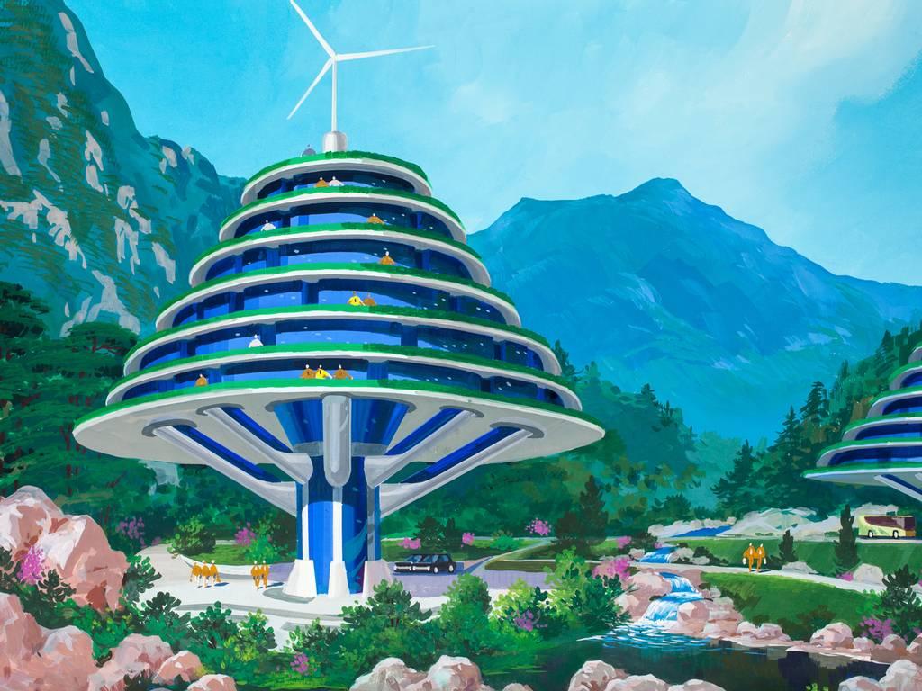North Korean future architecture-3