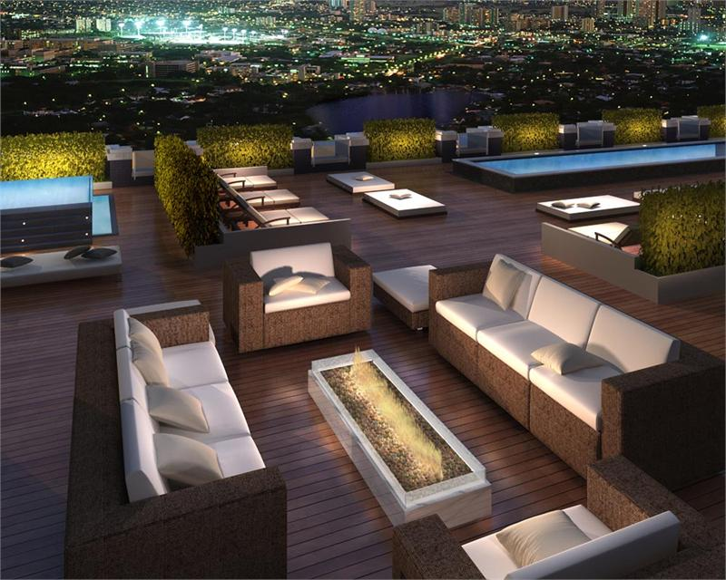 SoHo Champagne terrace