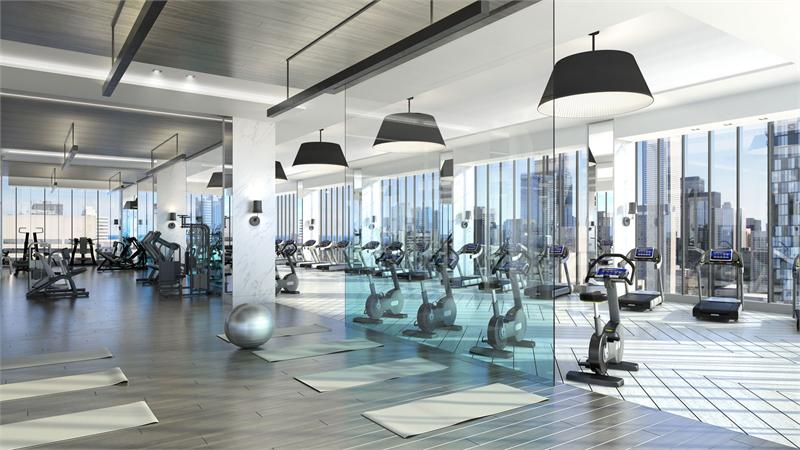 The Residences of 488 University Avenue Fitness Centre