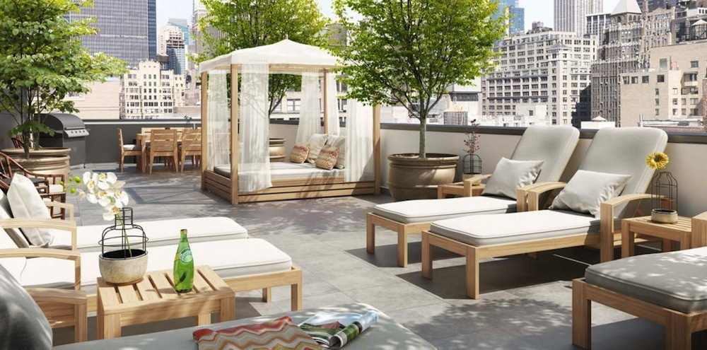The Seymour roof deck