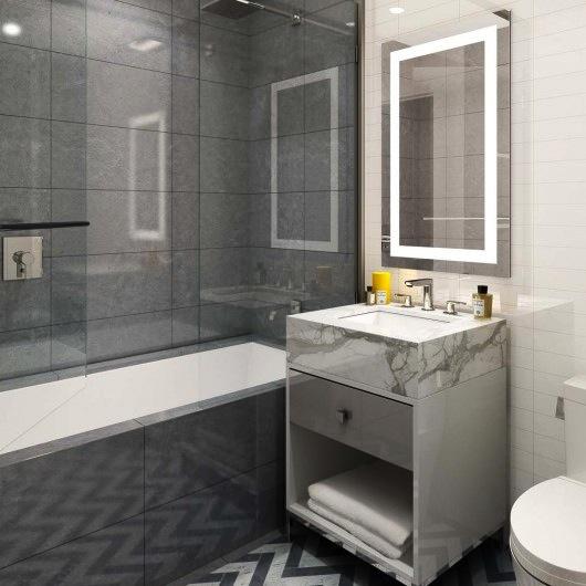 The Seymour second bathroom