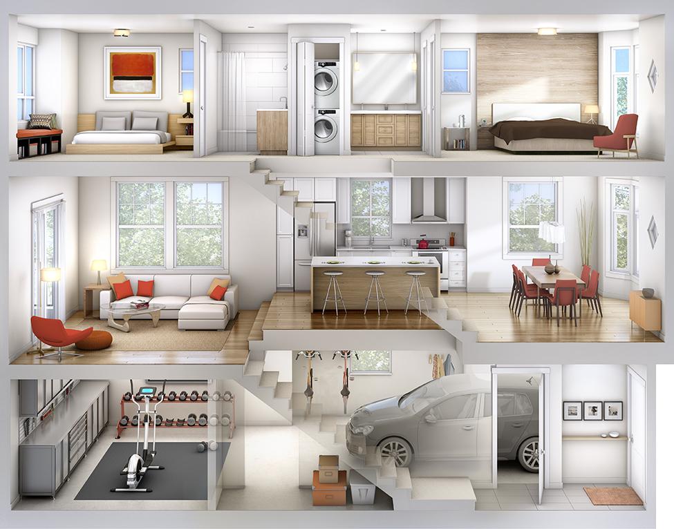 York-model-home