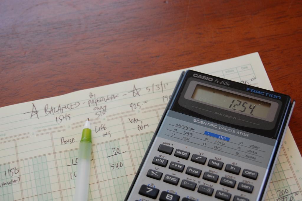 chequebook balance