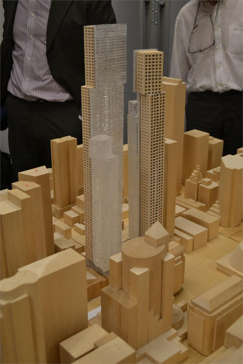 mirvish gehry scale model
