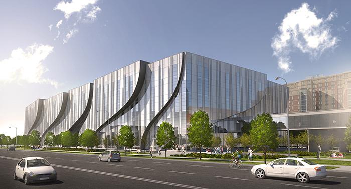 East_fascade_MacEwan Centre Edmonton