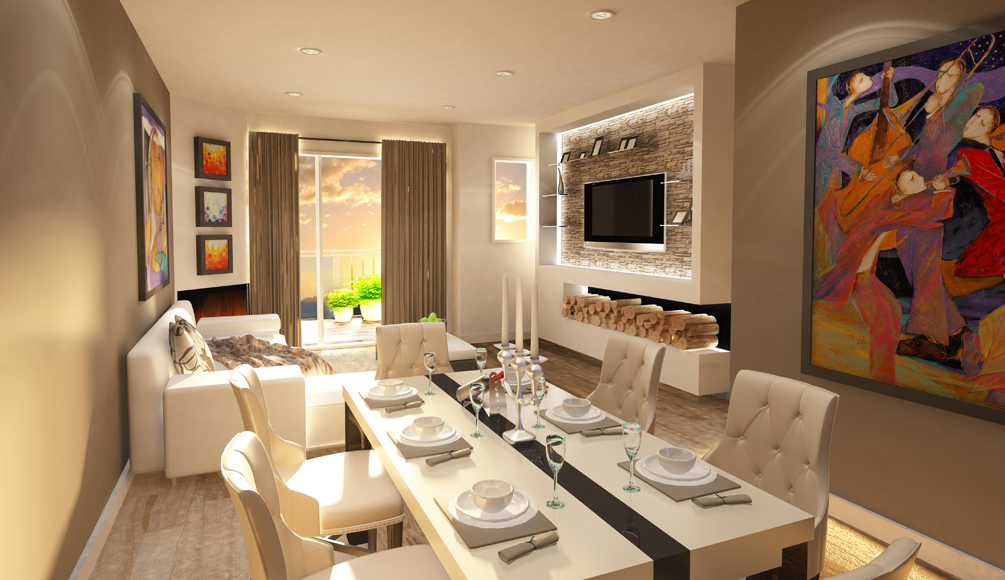 Modern Estates interiors