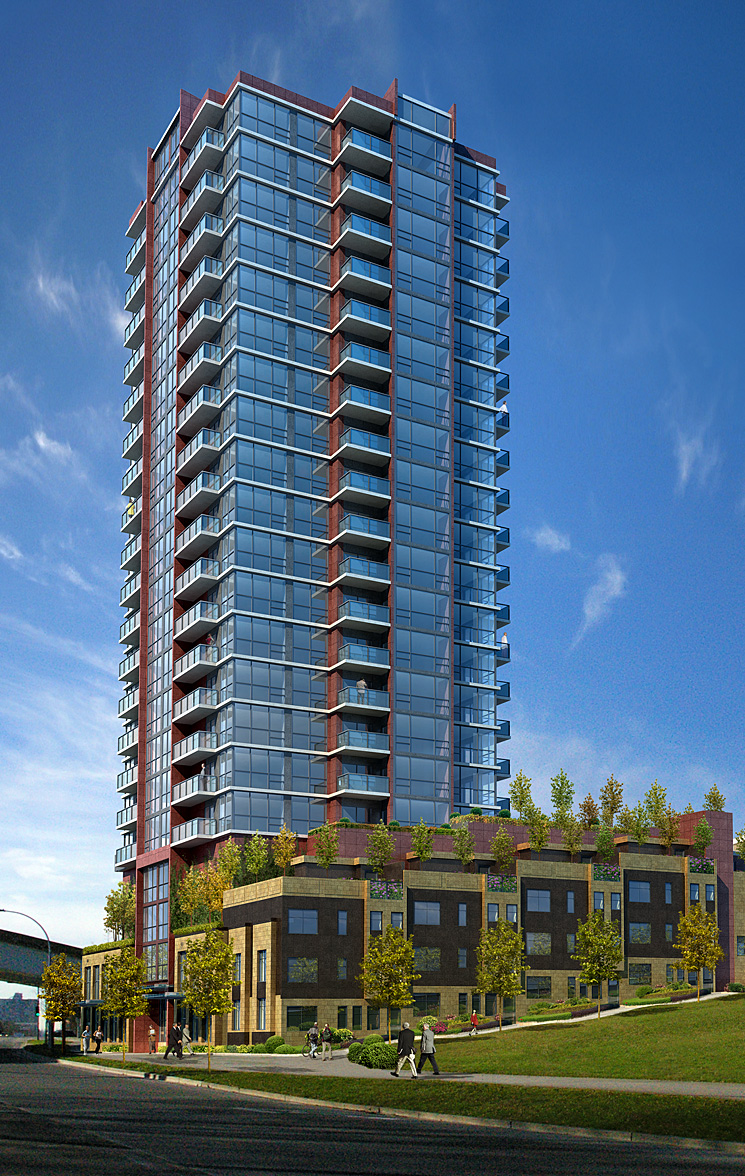 Northbank New Westminster condos