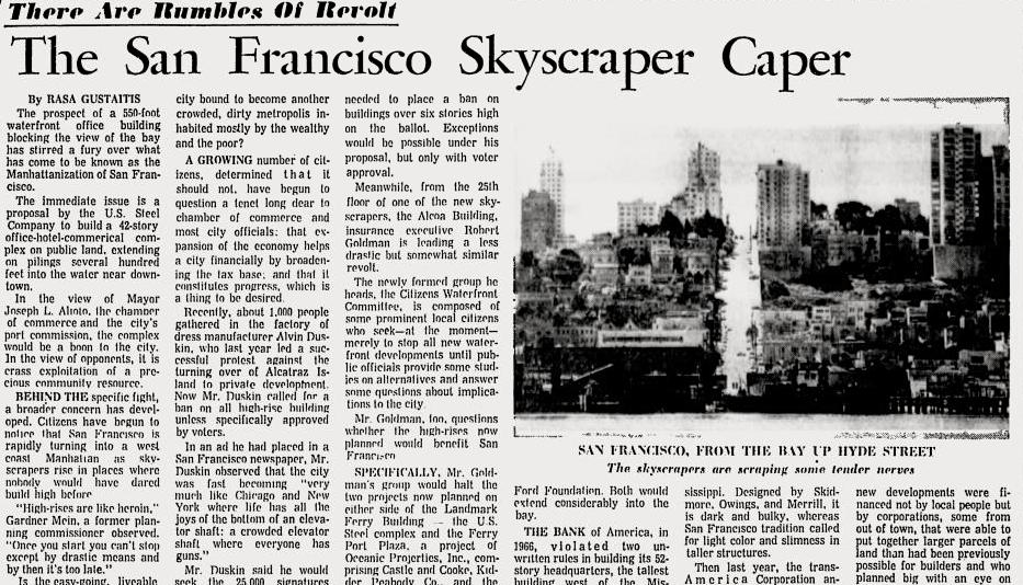 San Francisco Manhattanization