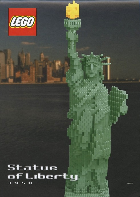 Statue of Libert Lego 2