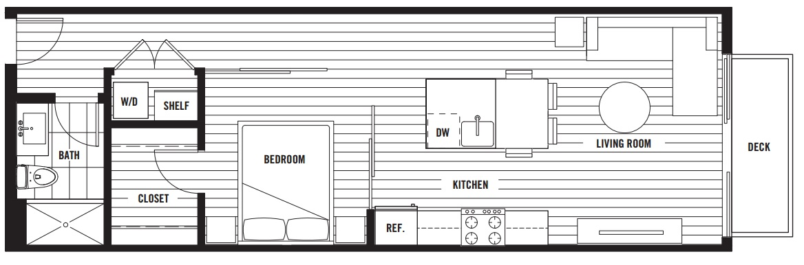 The Oxford floorplan