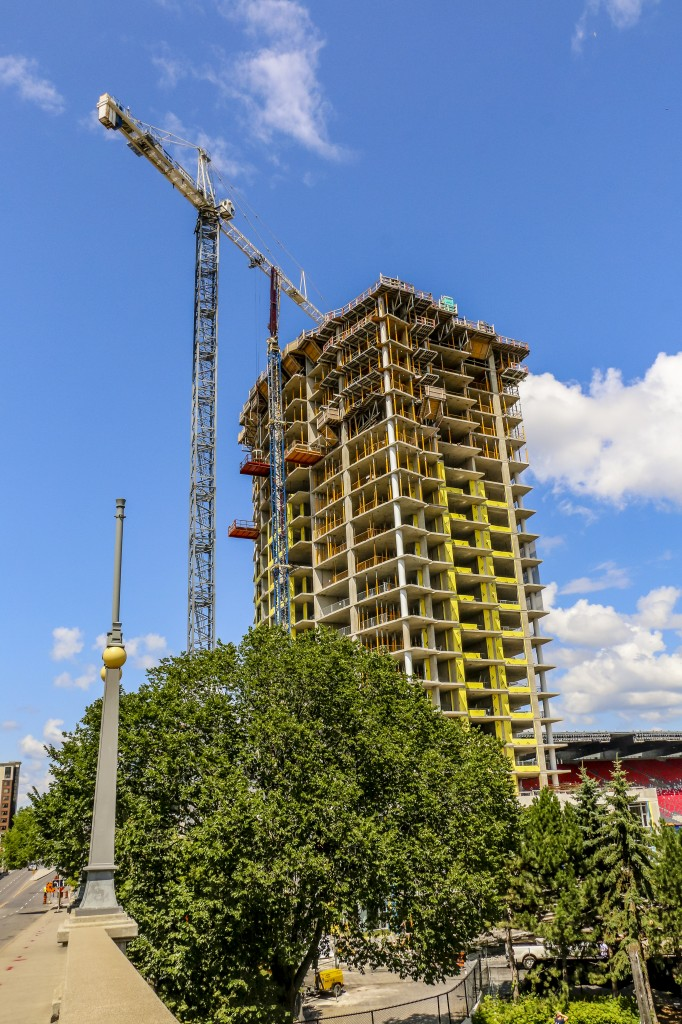 The Rideau Minto@Lansdowne Construction