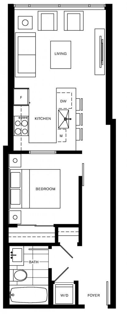 Trapp and Holbrook A1 floorplan