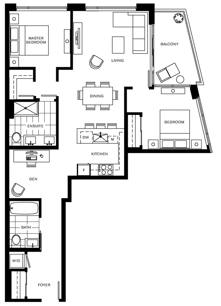 Trapp and Holbrook G2 floorplan