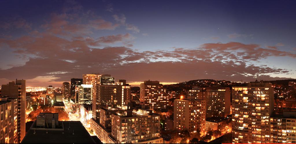 Xact Condos Montreal View