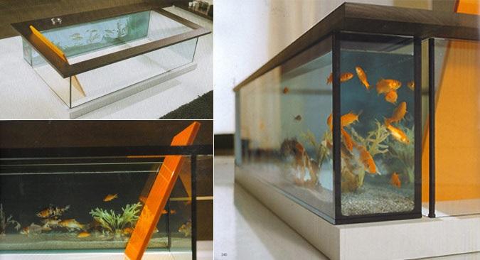 bathtub fish tank
