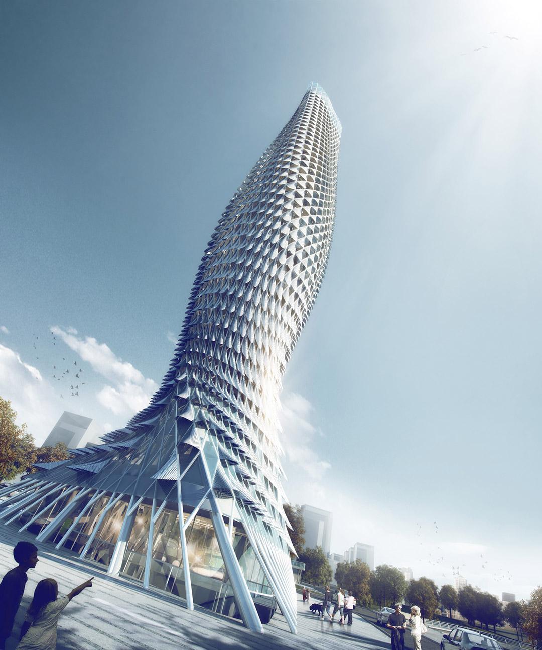 fish skyscraper