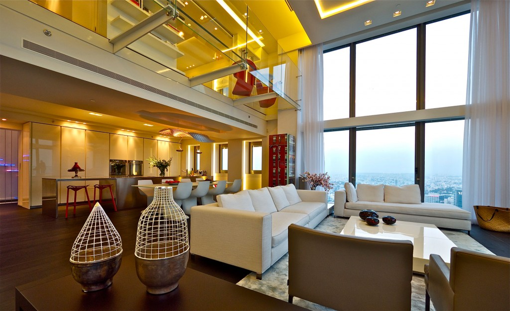 israel penthouse
