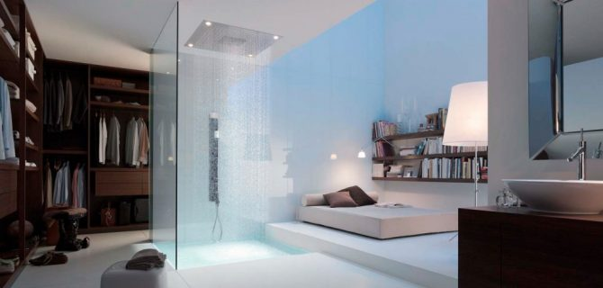 Terrific 17 Open Living Spaces That Blur The Line Between Bedroom And Download Free Architecture Designs Barepgrimeyleaguecom