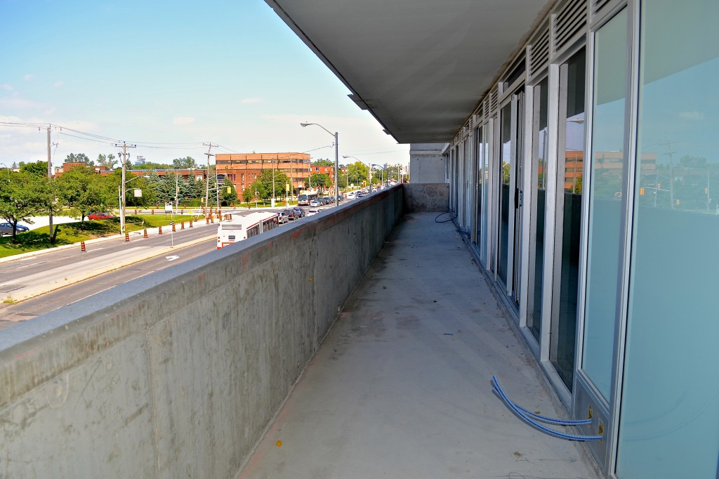 the station balcony