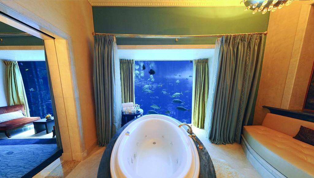 under water hotel room-1