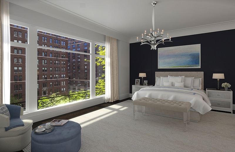 1110 Park Avenue bedroom