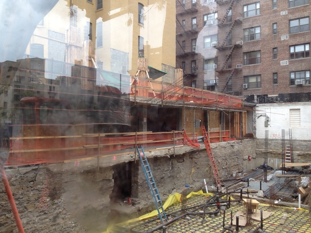 351 West 54th construction 1