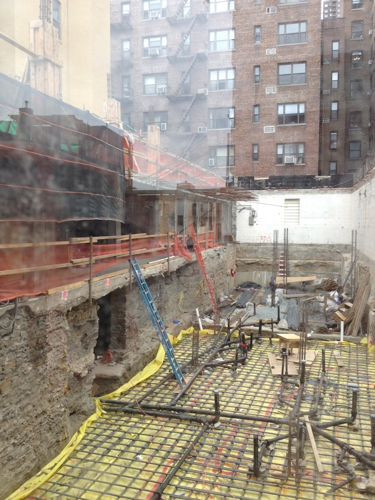 351 West 54th construction 2