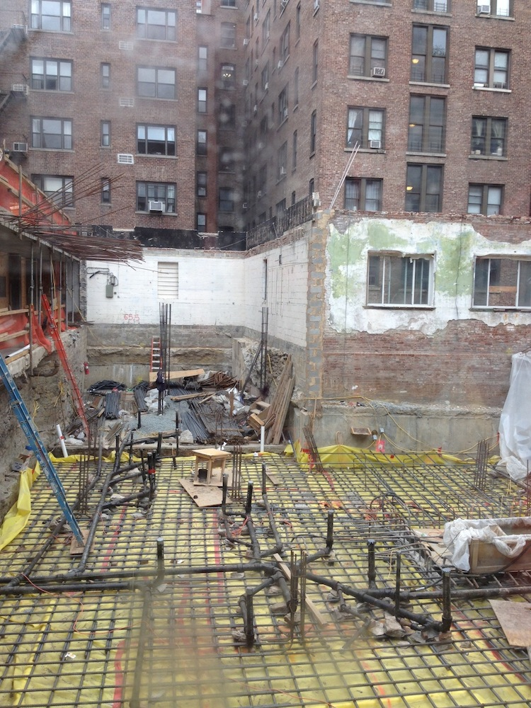 351 West 54th construction 3
