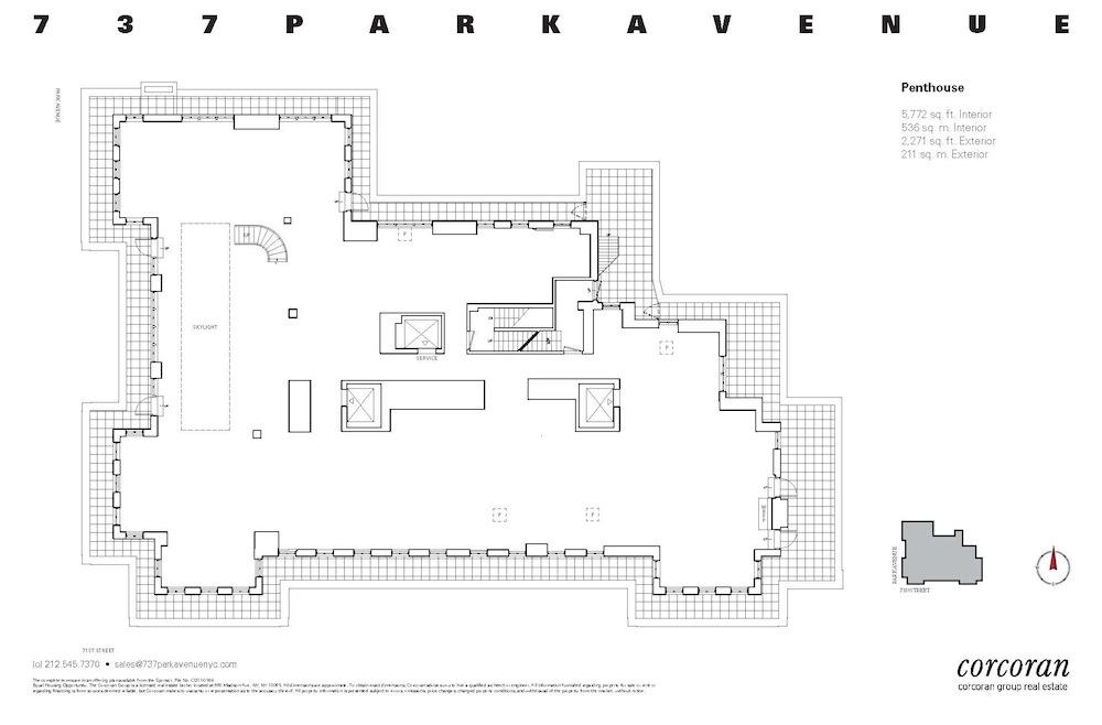 737 Park Avenue penthouse fp 2