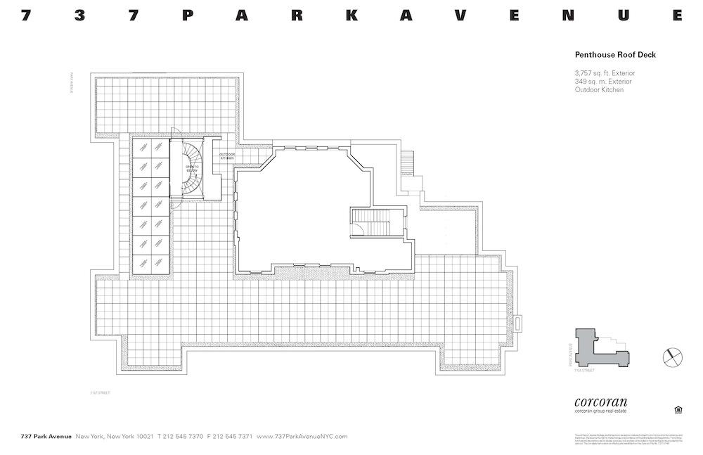 737 Park Avenue penthouse fp 3