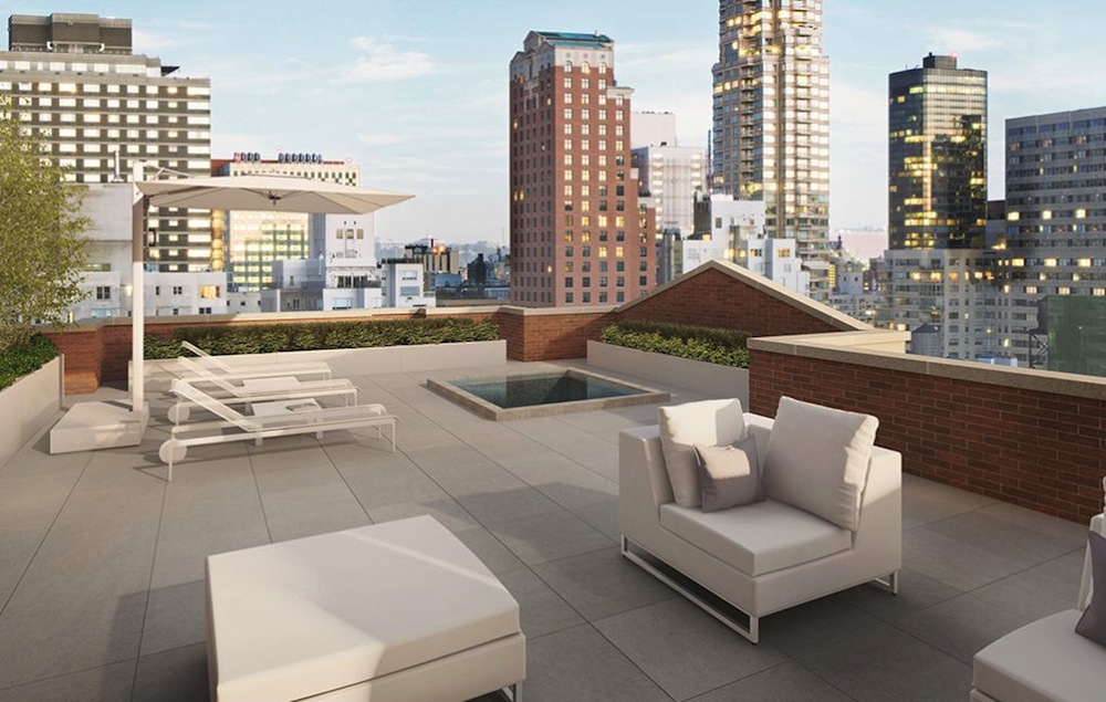 737 Park Avenue penthouse roof deck pl