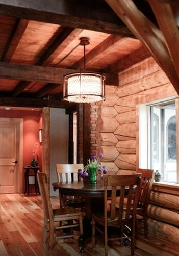 Airbnb Canmore Loghouse