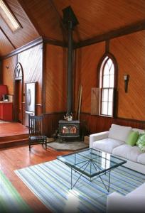 Airbnb converted church NS