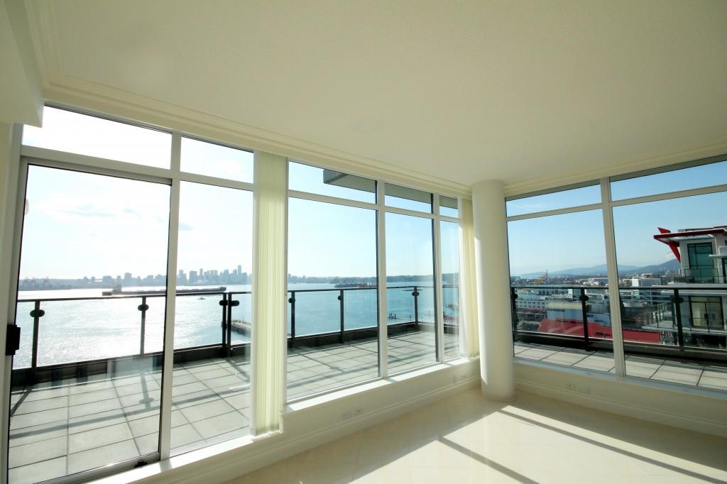 Atrium at the Pier penthouse