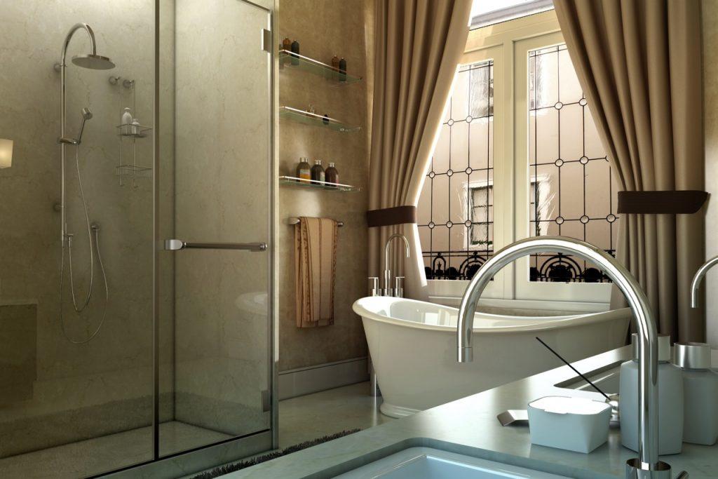 Bathroom Interior 1001 California Street