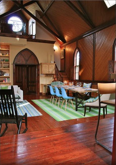 Converted Church Airbnb