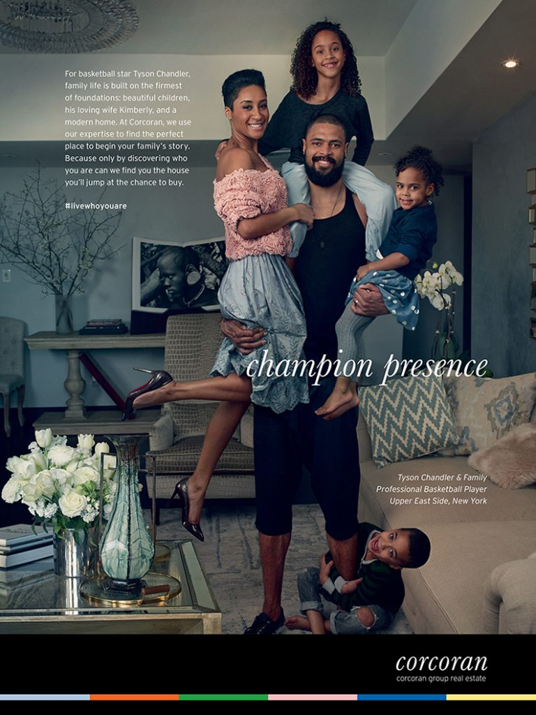 Corcoran campaign Tyson Chandler