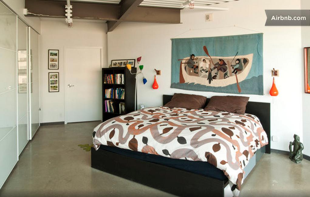 Edmonton penthouse airbnb