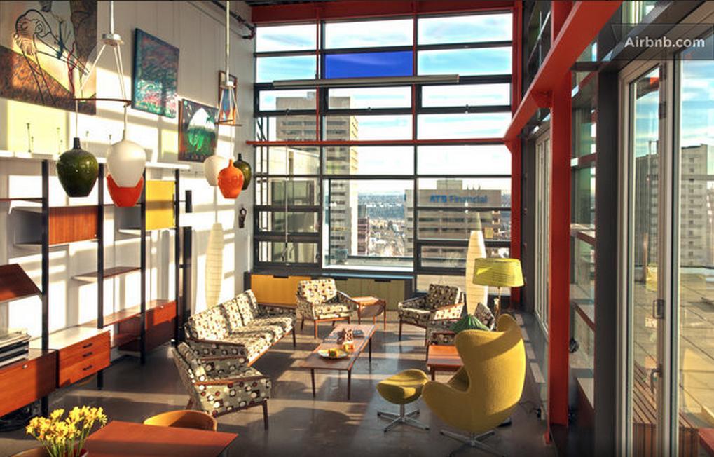 Edmonton penthouse