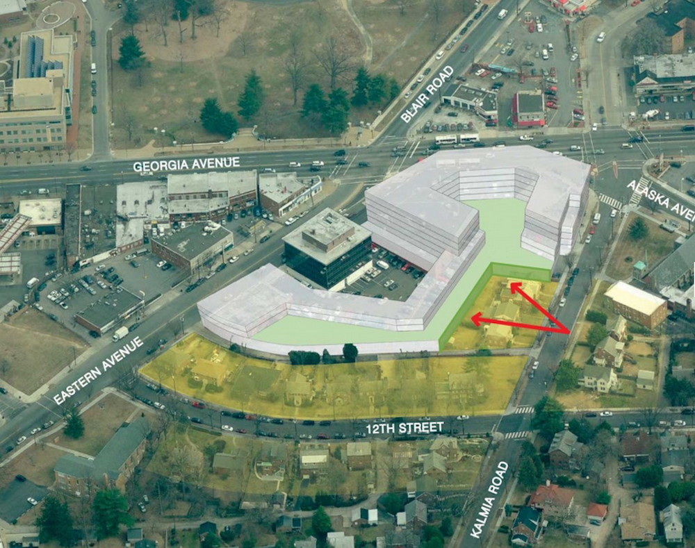 Georgia Eastern site plan