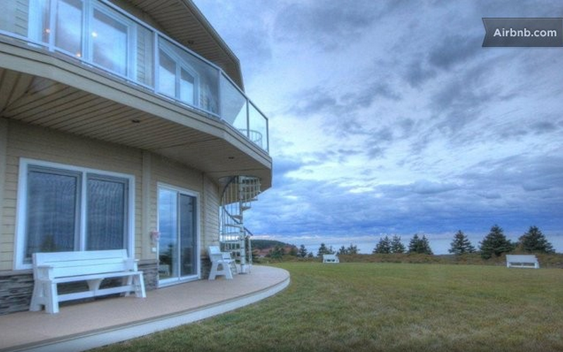 PEI rotating house