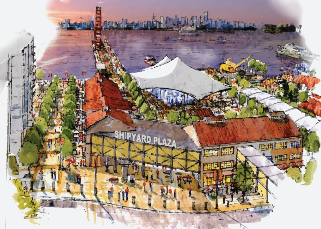 Shipyeards proposal north vancouver