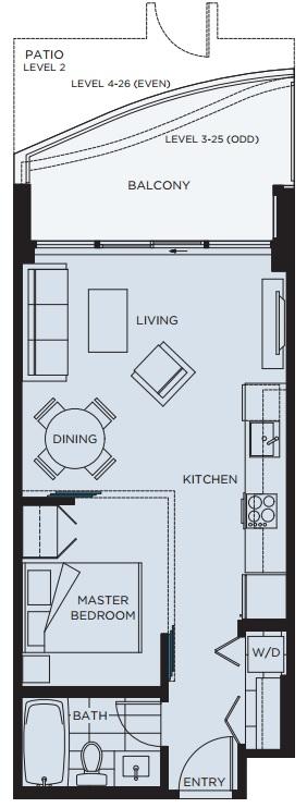 Wynd floorplan surrey condos