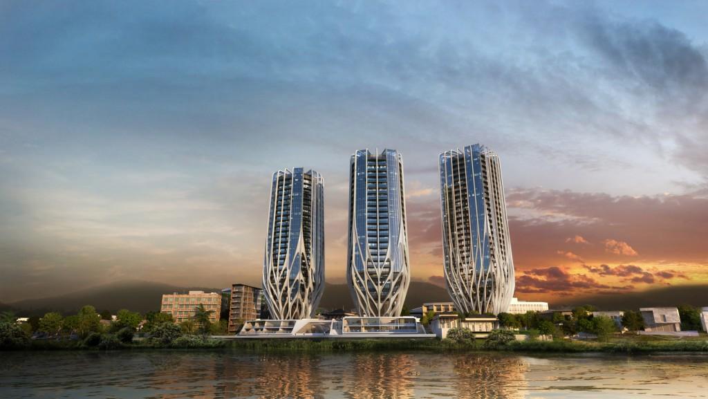 Zaha Hadid Architects brisbane skyscrapers-1