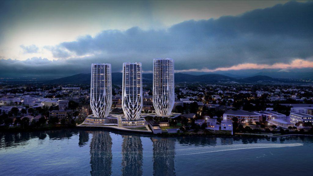 Zaha Hadid Architects brisbane skyscrapers-2