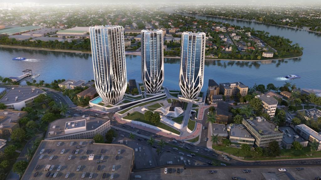 Zaha Hadid Architects brisbane skyscrapers-3