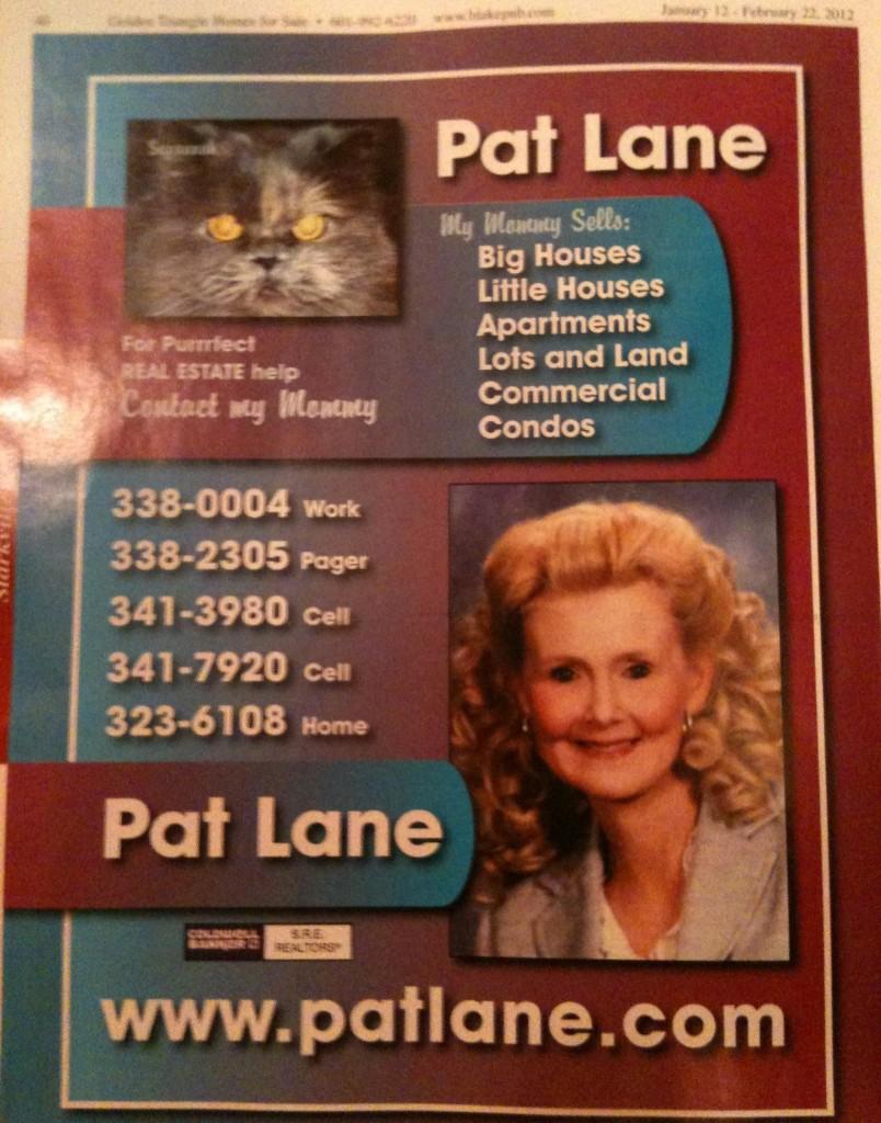 cat real estate agent